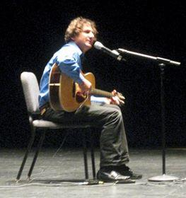 Andy KImbel performs at Perlman Theater at the Kimmel Center in Philadelphia